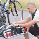 How to install bicycle rack on car